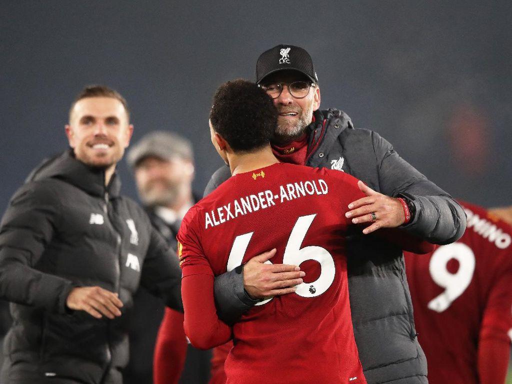 Liverpool Juara dengan 7 Laga Sisa, Rekor!