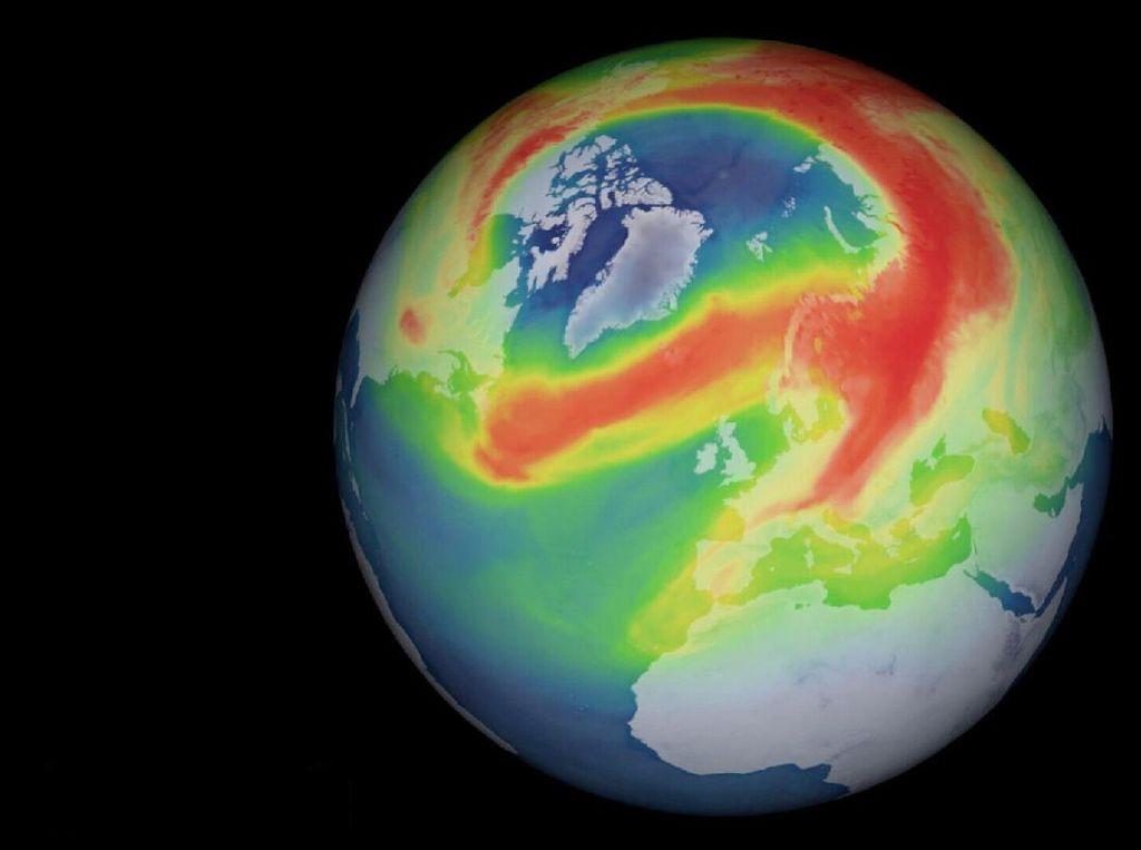 Syukurlah, Lubang Ozon Terbesar di Kutub Utara Menutup