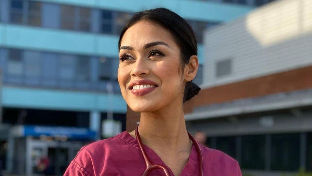 Ratu Kecantikan Ini Gantung Mahkota, Kembali Jadi Dokter Bantu Atasi Corona