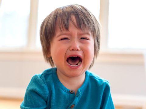Ilustrasi anak tantrum di fase terrible two