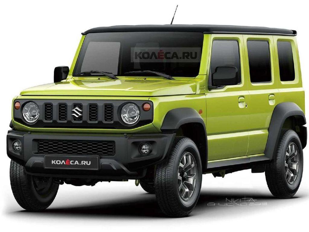 Suzuki Jimny 5 Pintu Akan Dibuat dari Basis Toyota Raize?