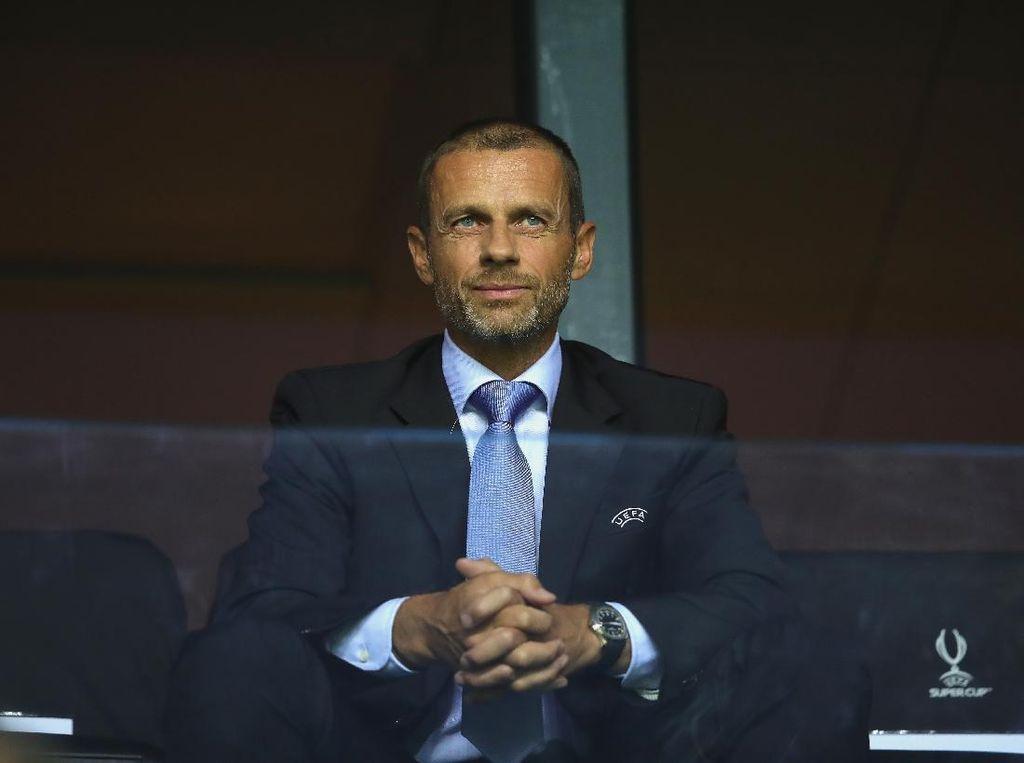 Presiden UEFA Optimistis Sepakbola Akan Semarak Lagi