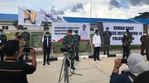 RS Khusus Corona di Pulau Galang Batam Resmi Beroperasi