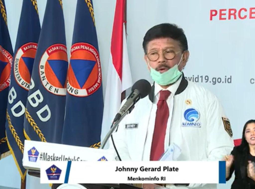 Menkominfo: Operator Seluler Jadi Garda Depan Pencegahan Corona