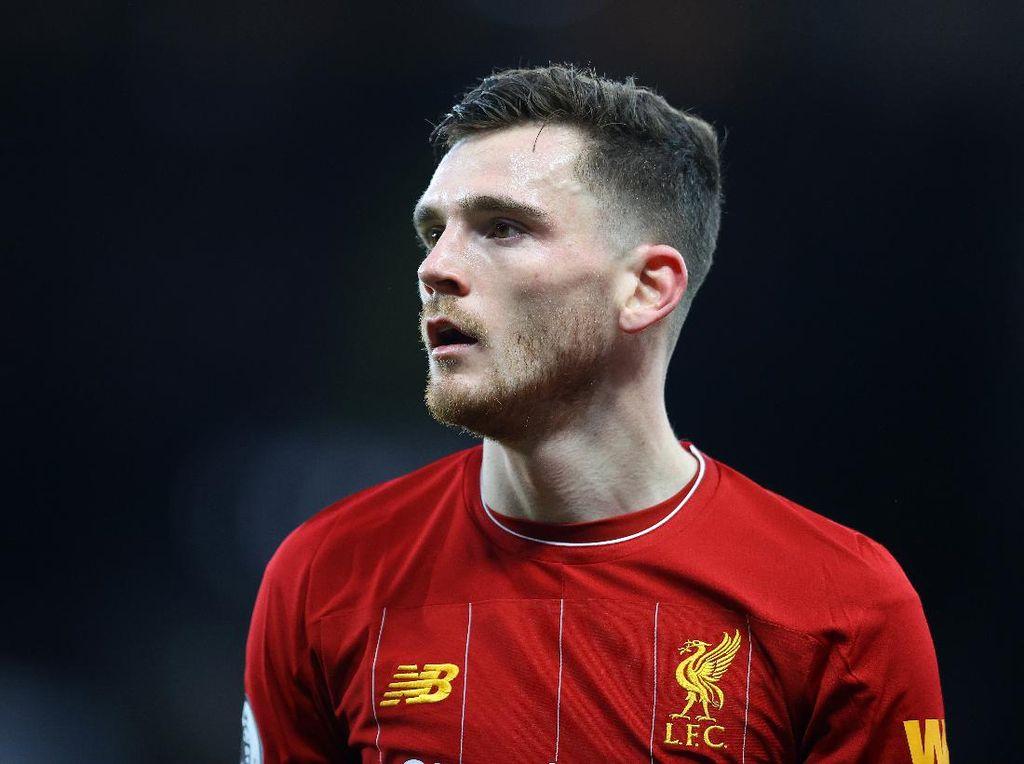 Robertson Ikutan Cedera, Semua Bek Inti Liverpool Terkapar