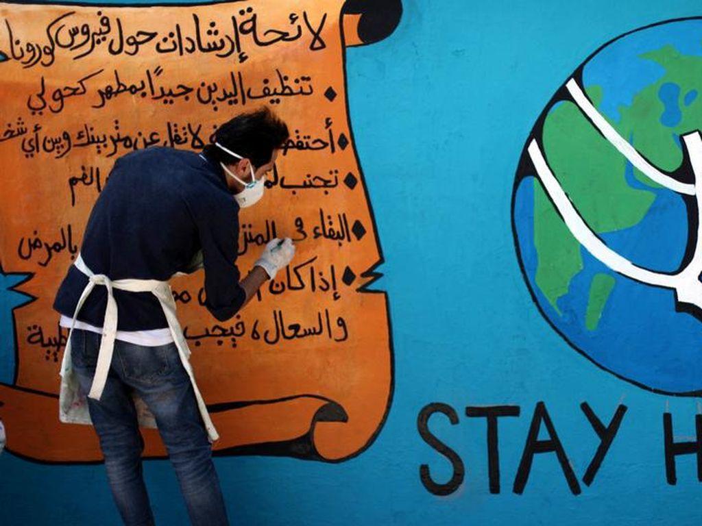 Virus Corona di Timur Tengah, Kreativitas untuk Membantu Tak Kenal Batas