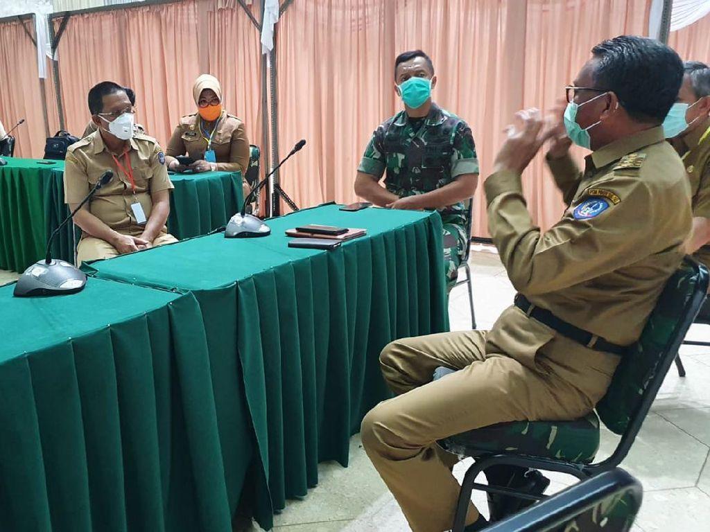 RS Dadi Makassar Tempat Cek Corona, Nurdin: Jangan Ada Lagi Penolakan Pasien