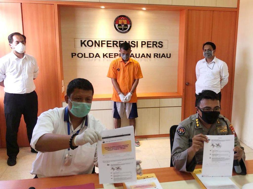 Diduga Lecehkan Kinerja Jokowi di FB, Pria di Tanjung Pinang Kepri Ditangkap