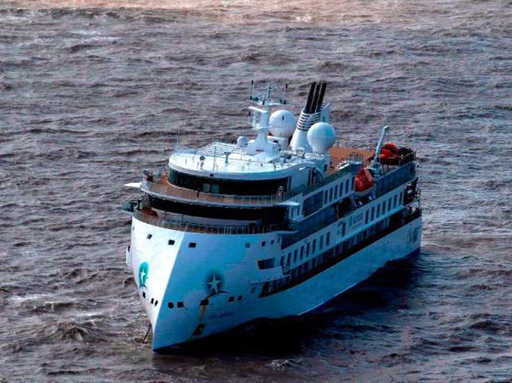 Lagi, 60% Penumpang di Kapal Pesiar Rute Antartika Positif Corona