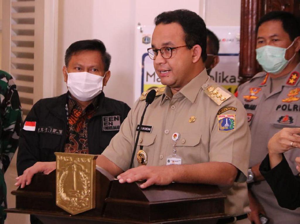 Anies: Selama PSBB di Jakarta Masih Banyak yang Melanggar