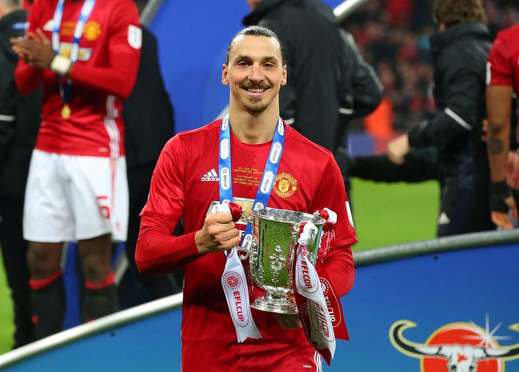 Zlatan Ibrahimovic di Manchester United