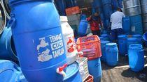 Tempat Cuci Tangan Berbahan Tong Bekas Karya Pemuda Jombang Ramai Pesanan