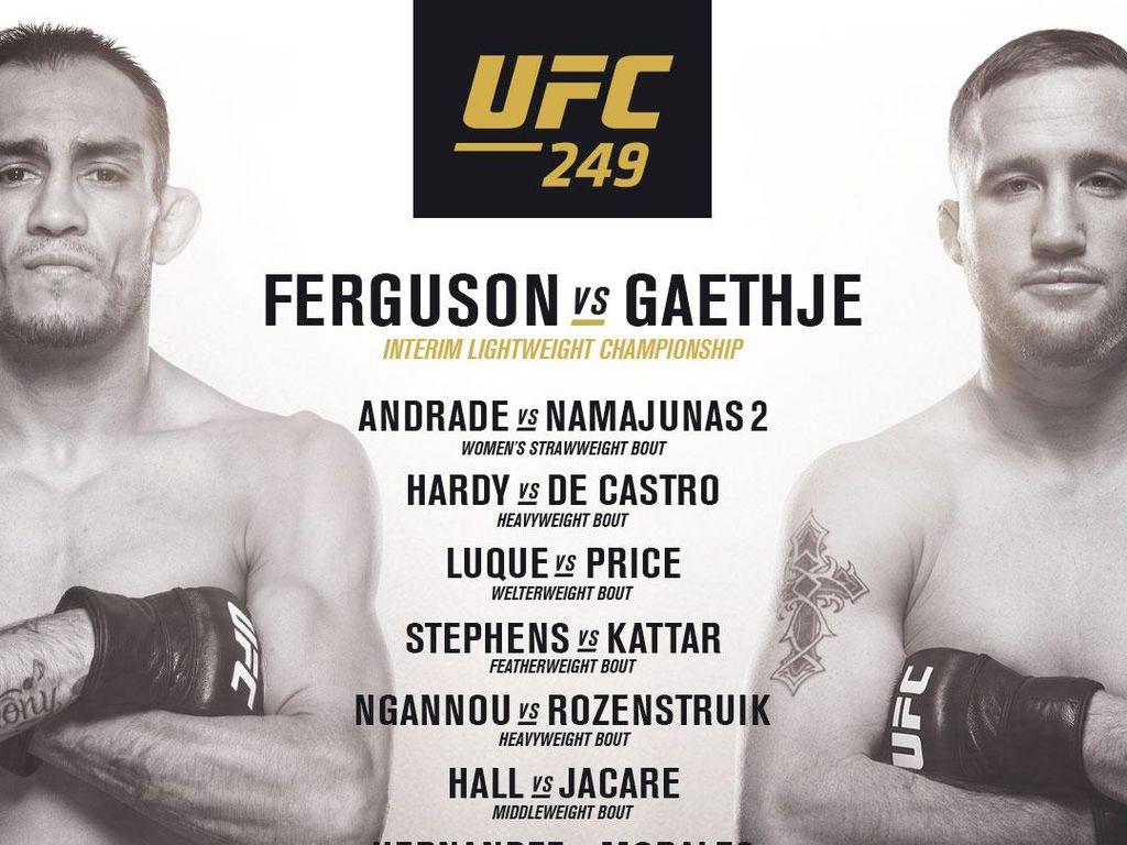 Jalan Terus Di Tengah Pandemi Corona, UFC 249 Dikritik Keras