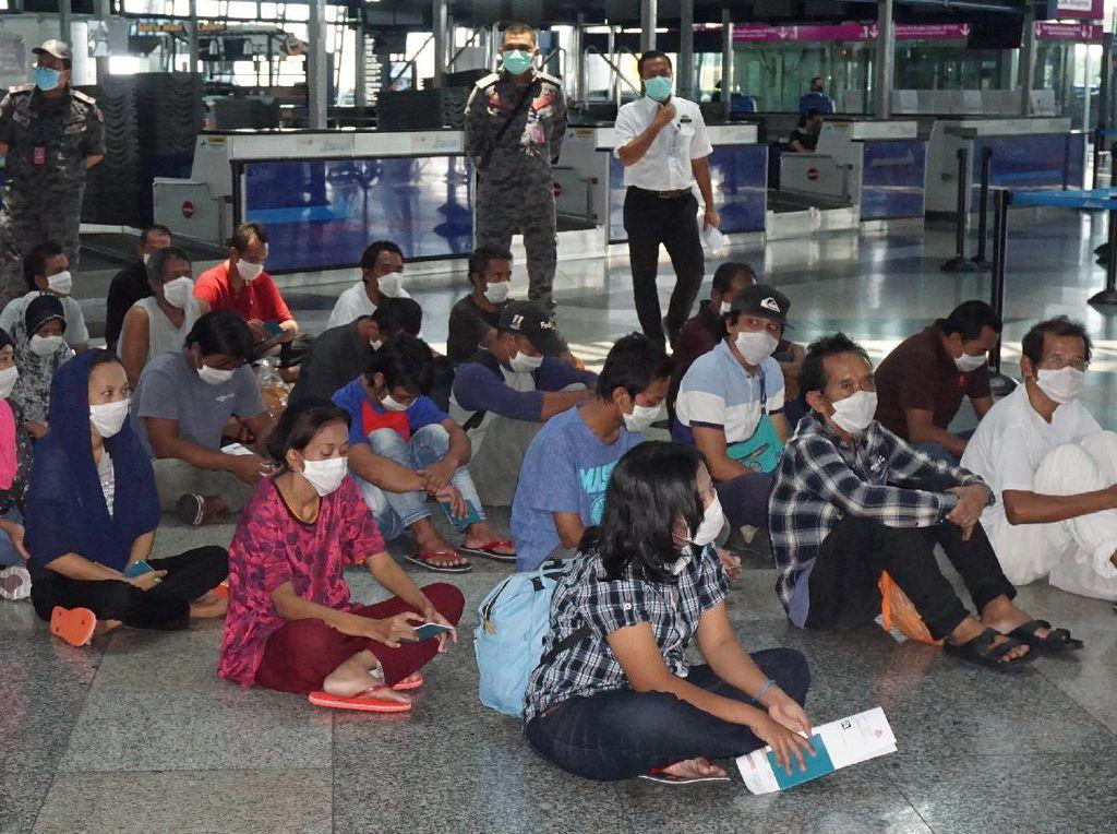 Video Malaysia Lockdown, 48 TKI Ilegal Tepergok Mudik Lewat Bintan
