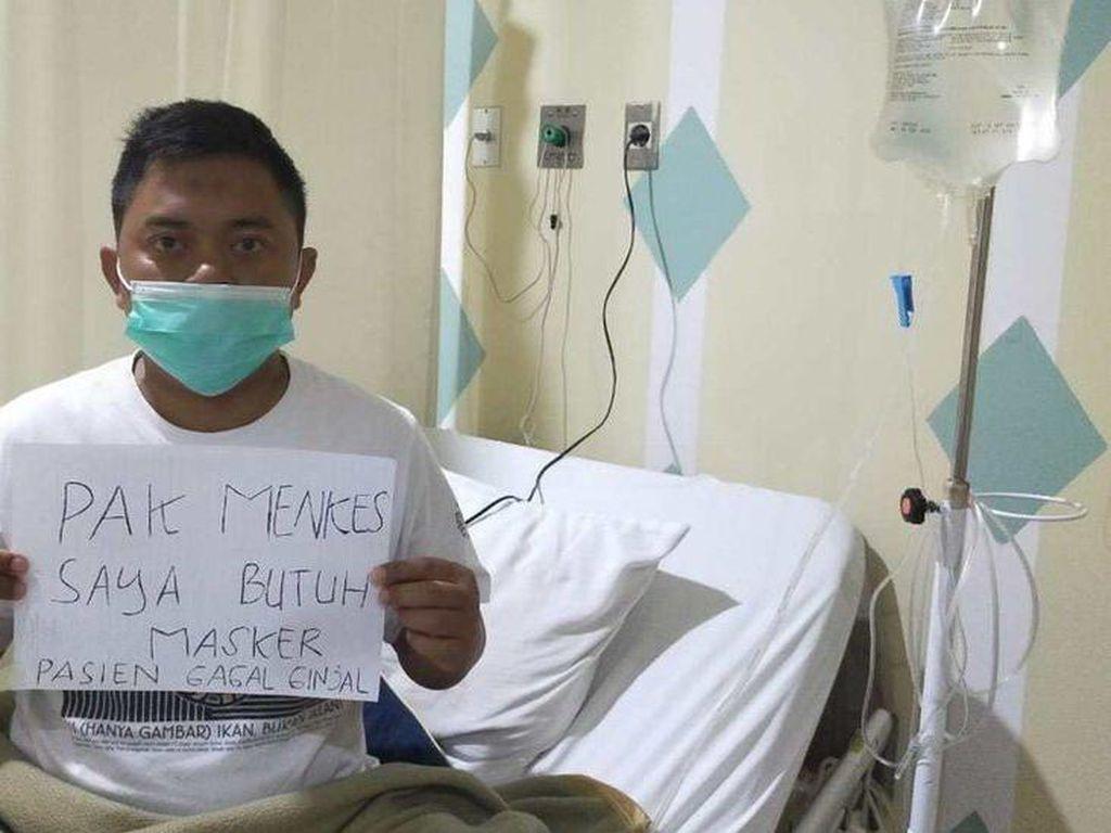 Derita Pasien Cuci Darah di Tengah Pandemi Virus Corona