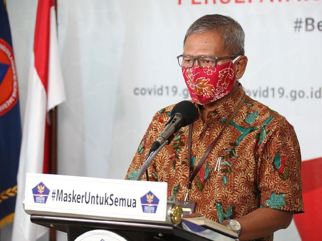 Bertambah 282, Kasus Positif Corona di Indonesia Jadi 4.839