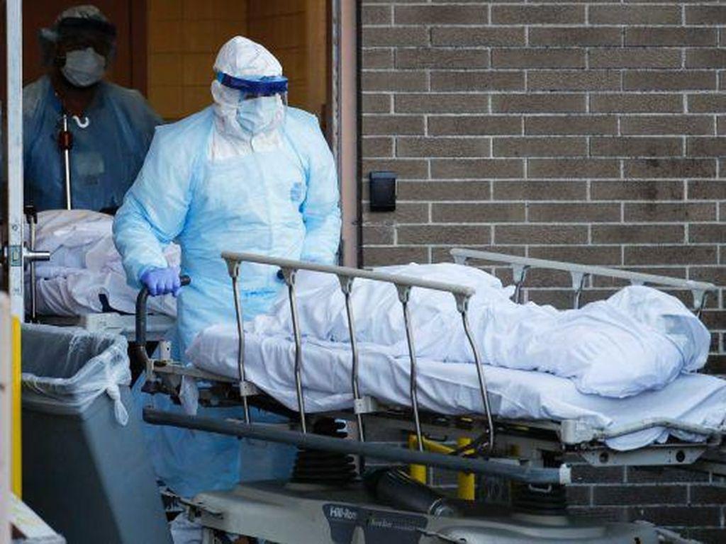 Korban Tewas di New York Akibat COVID-19 Sudah Lampaui Korban Teror 9/11