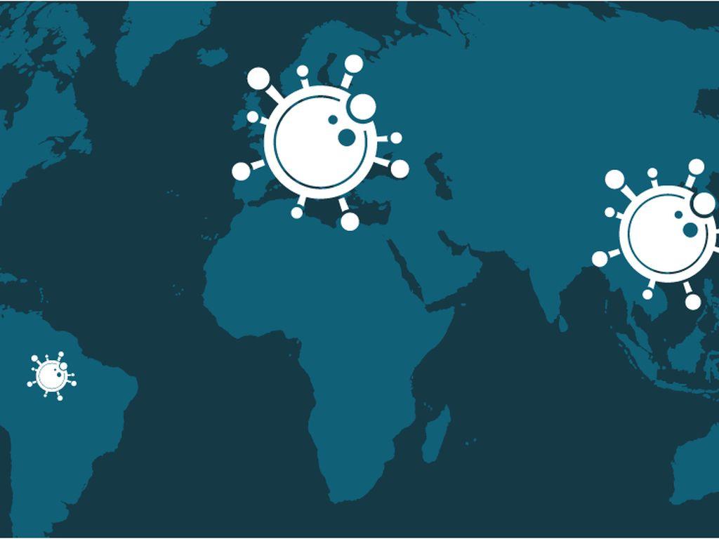 Update Corona Global: Lebih dari 3 Juta Penduduk Dunia Terinfeksi