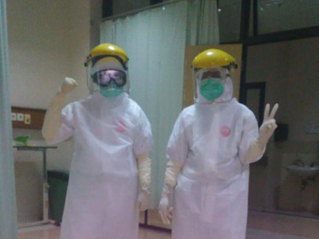 Perjuangan Tenaga Medis di RSHS Bandung Tangani Pasien Corona