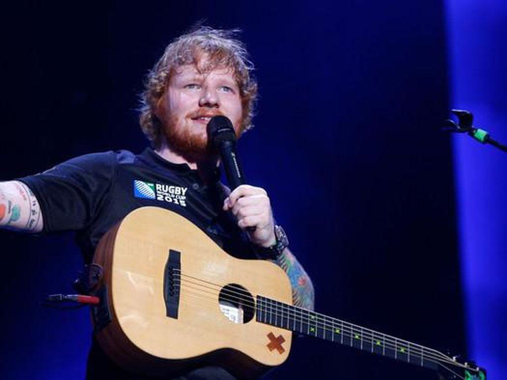 Ed Sheeran Namai Sang Putri Lyra Antarctica, Apa Maknanya?