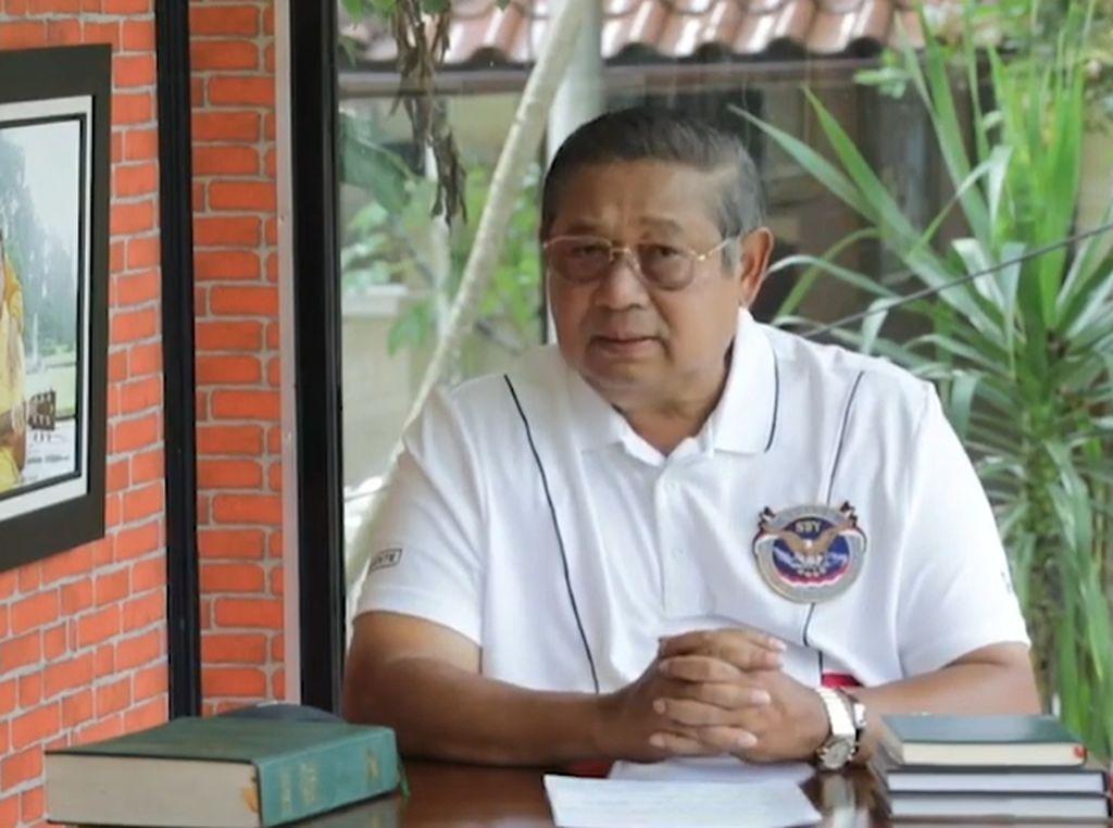 Pesan SBY di HUT RI Ke-75: Kita Hadapi Krisis Kembar, Harus Bersatu