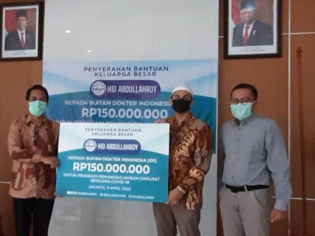 Lembaga e-Learning Agama Islam Ini Sumbang Rp 150 Juta ke IDI