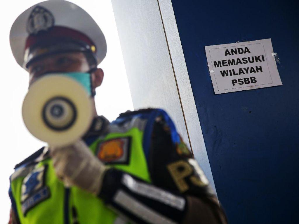 20 Pemotor di Cilincing Didenda Gegara Tak Pakai Masker di Malam Takbiran