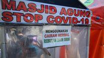 Bilik Disinfektan Herbal di Kudus Siap Basmi Corona