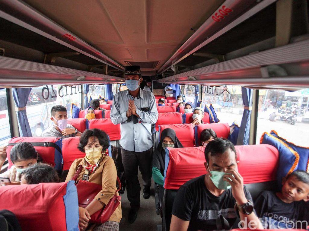 Sebelum Jokowi Larang Mudik, Penumpang Bus Sudah Sepi dan Tiket Naik 50%