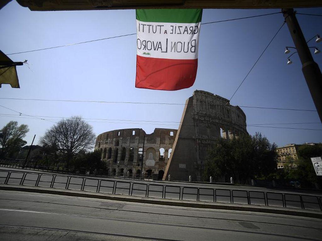 Italia Kembali Perpanjang Lockdown untuk Batasi Virus Corona Hingga 3 Mei