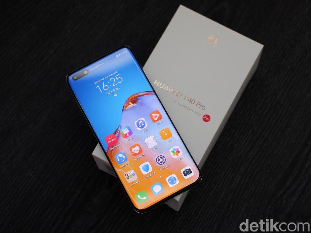 Huawei P40 Pro Mendukung 5G, Tapi...