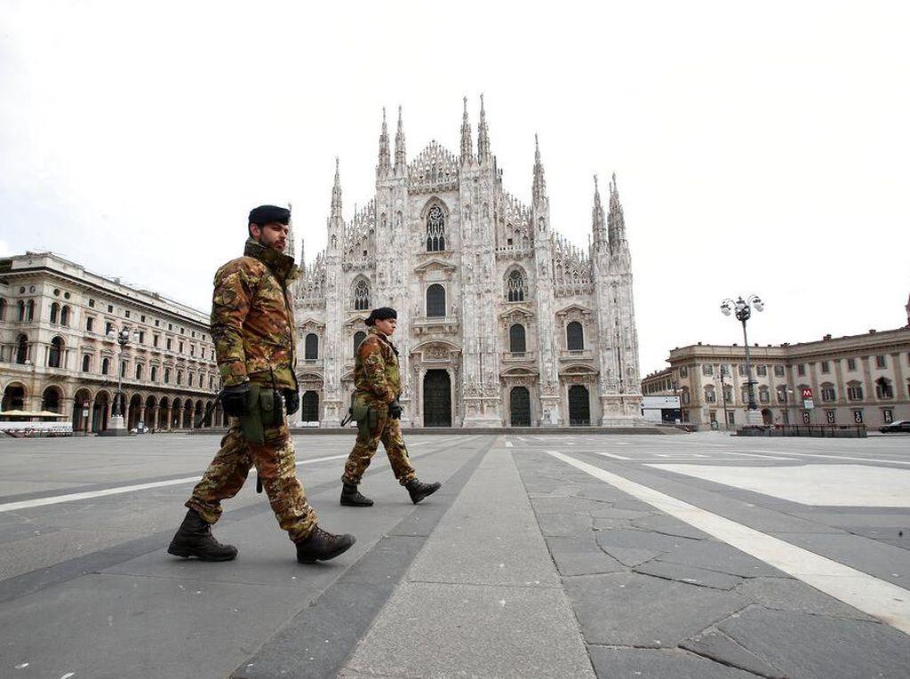 Italia Perpanjang Lockdown Hingga 3 Mei 2020