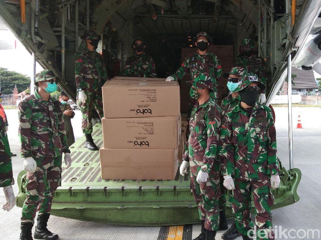 7.000 APD dan 4.000 Masker untuk Penanganan Corona Tiba di Bali