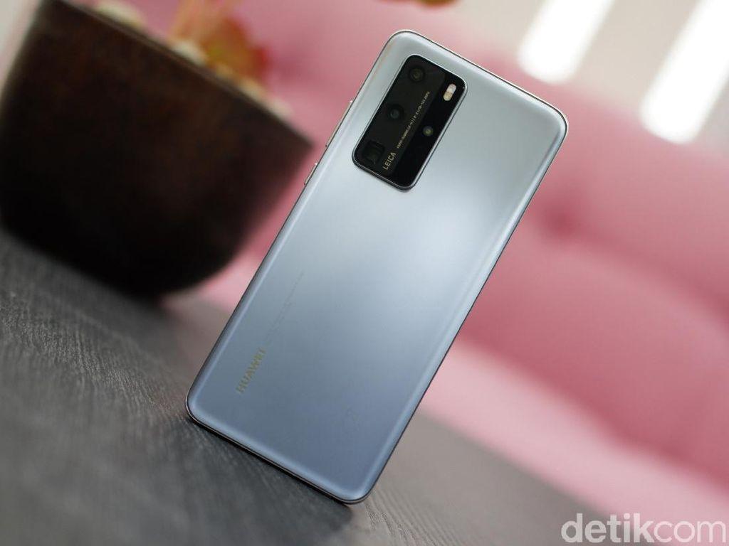 Unboxing Huawei P40 Pro, Ponsel Berkamera Gahar Rp 14 Jutaan