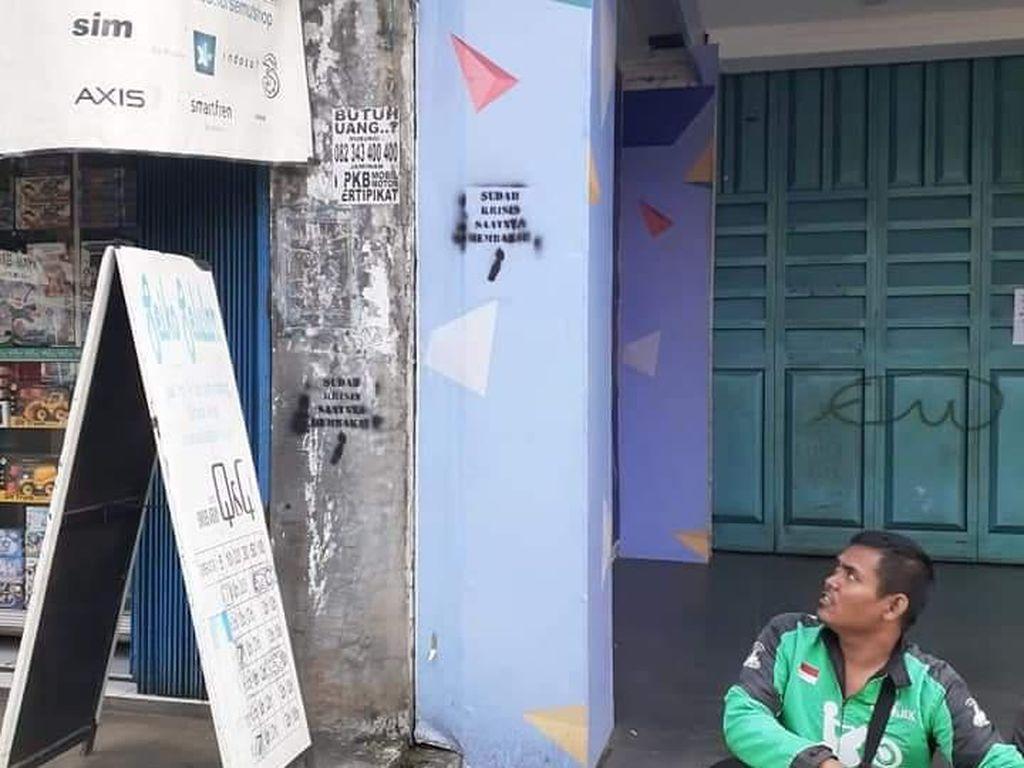 Polisi: 5 Pelaku Vandalisme Kill The Rich di Tangerang Kelompok Anarko