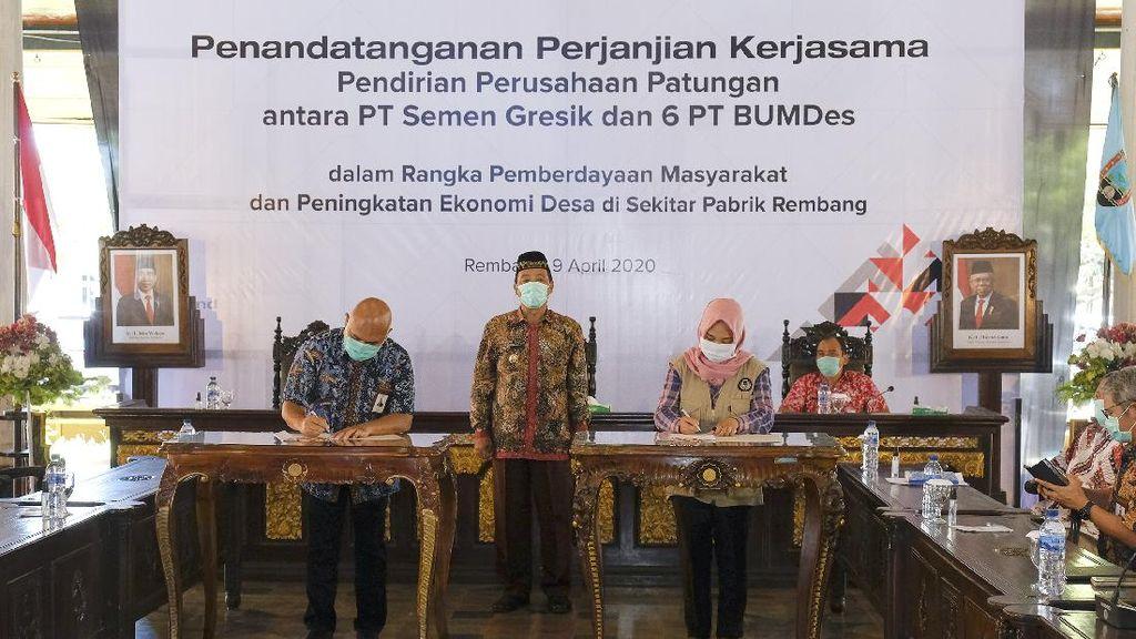 Pendirian Perusahaan Patungan dengan BUMDes di Kabupaten Rembang
