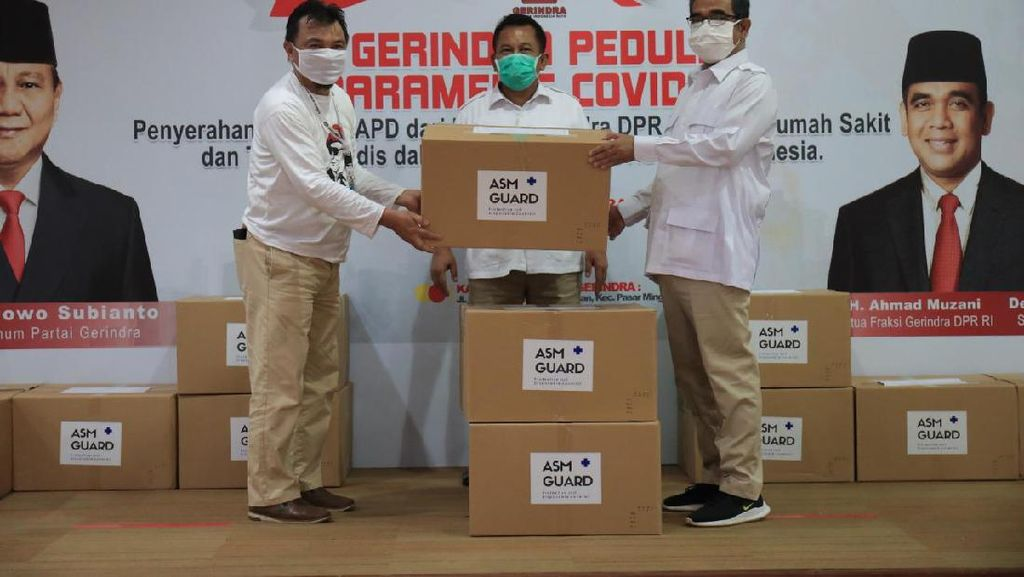 Lagi, Bantuan APD dan Masker Terus Mengalir