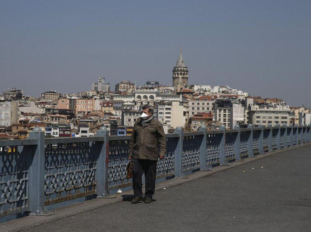 Turki Lockdown Istanbul dan 30 Kota Besar pada 23 April