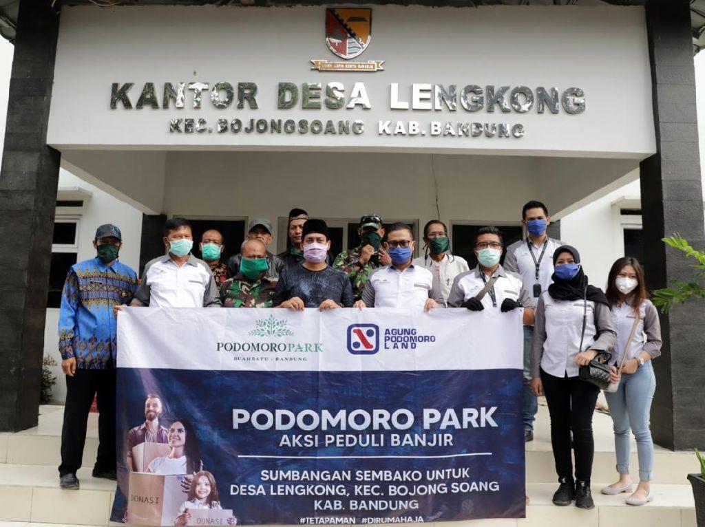 Pengembang Properti Salurkan Donasi ke RSUD & Korban Banjir Bandung