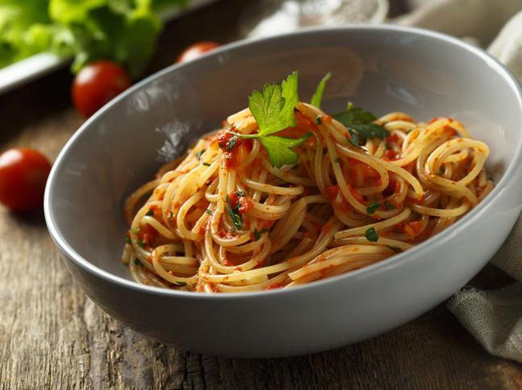 Resep Spaghetti ala Sicilia yang Gurih Segar
