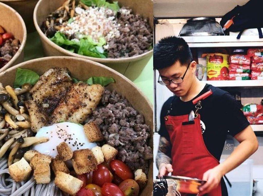 2 Anak Muda Ini Tolak Uang di Saat Mereka Sumbang Makanan Korban Corona