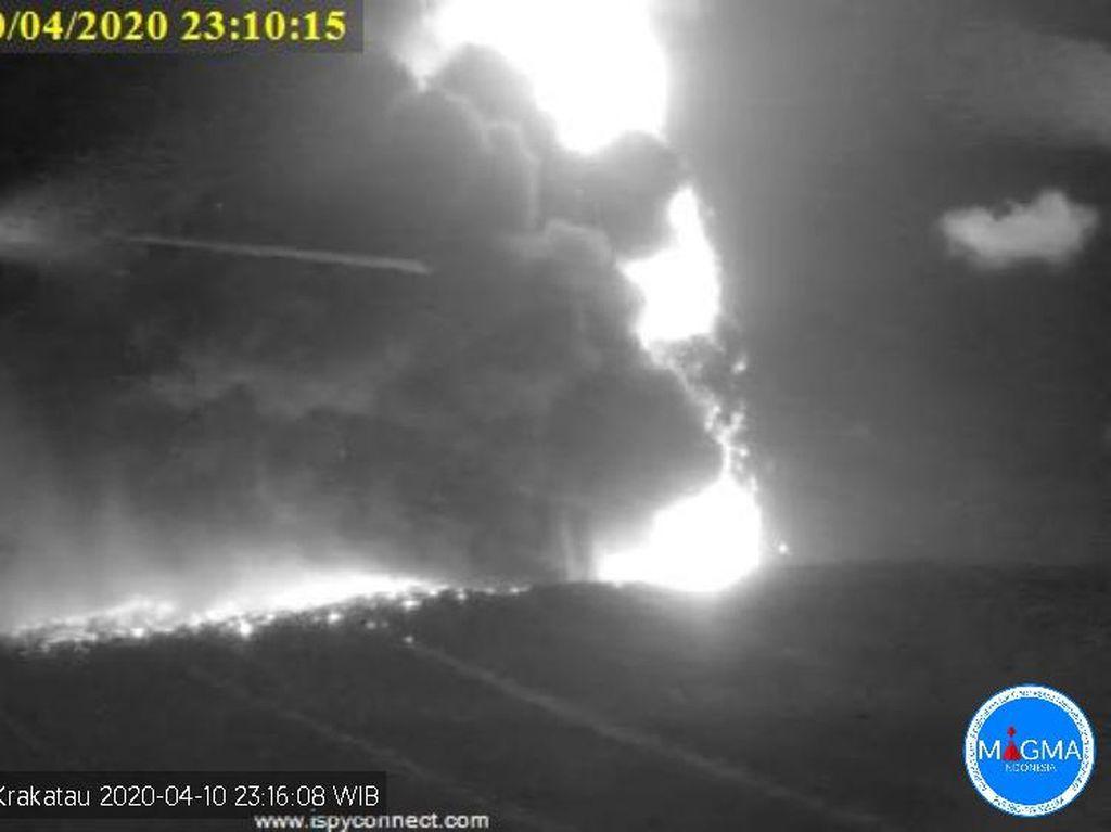 BMKG: Erupsi Gunung Anak Krakatau Tak Picu Anomali Permukaan Laut