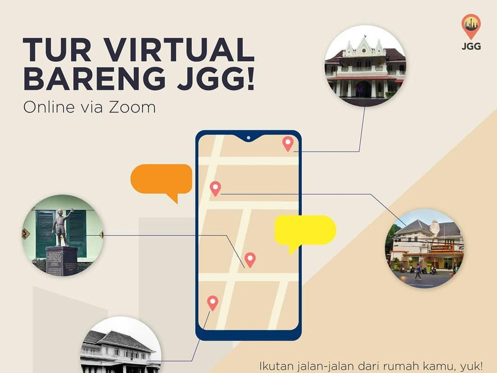 Yang Kurang dari Tur Virtual Keliling Jakarta