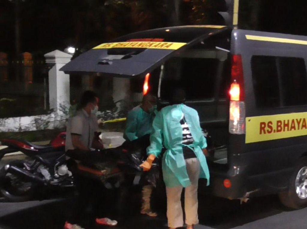 Pria di Medan Dievakuasi Prosedur Corona Meninggal, Polisi: Laka Tunggal