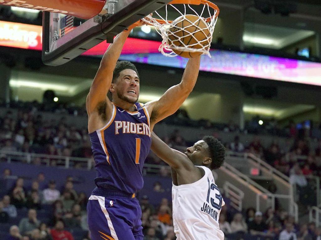 NBA Adakan Turnamen Virtual, Pebasket Phoenix Suns Jadi Juara