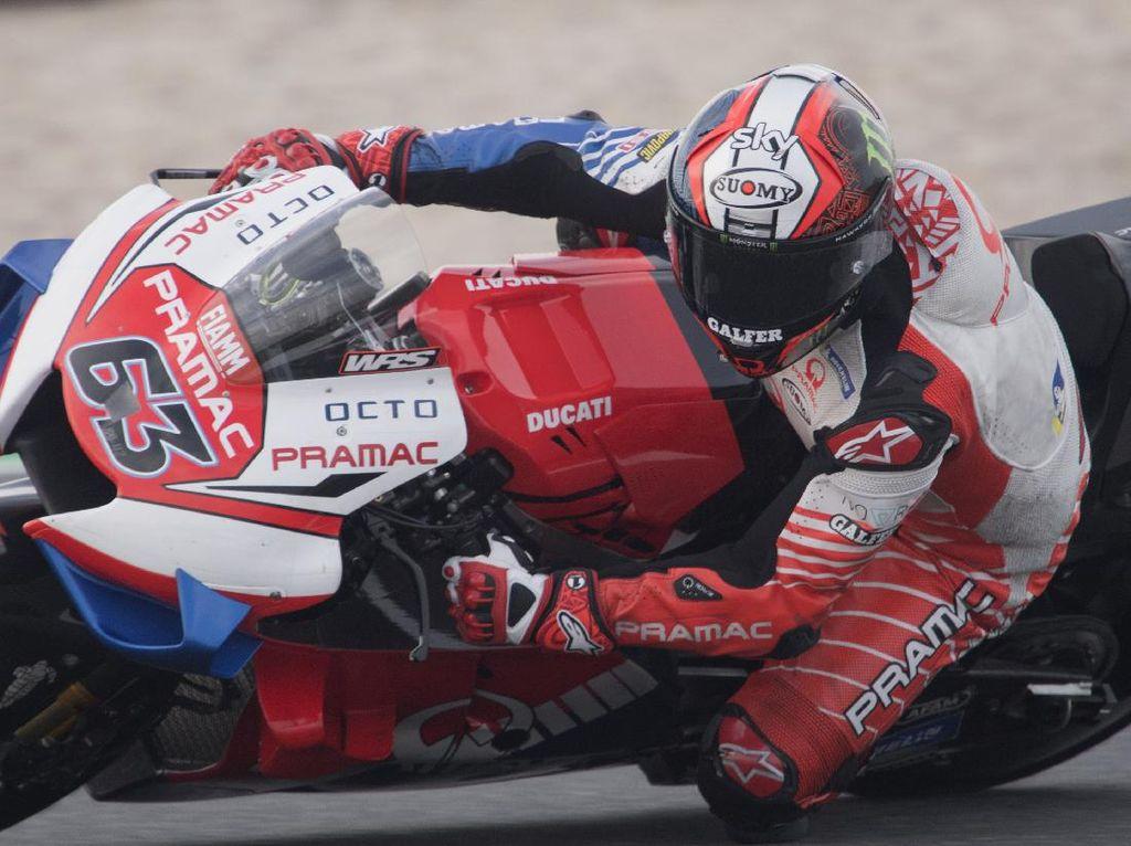 MotoGP Virtual Race 2: Bagnaia Menang, Duel Sengit dengan Vinales