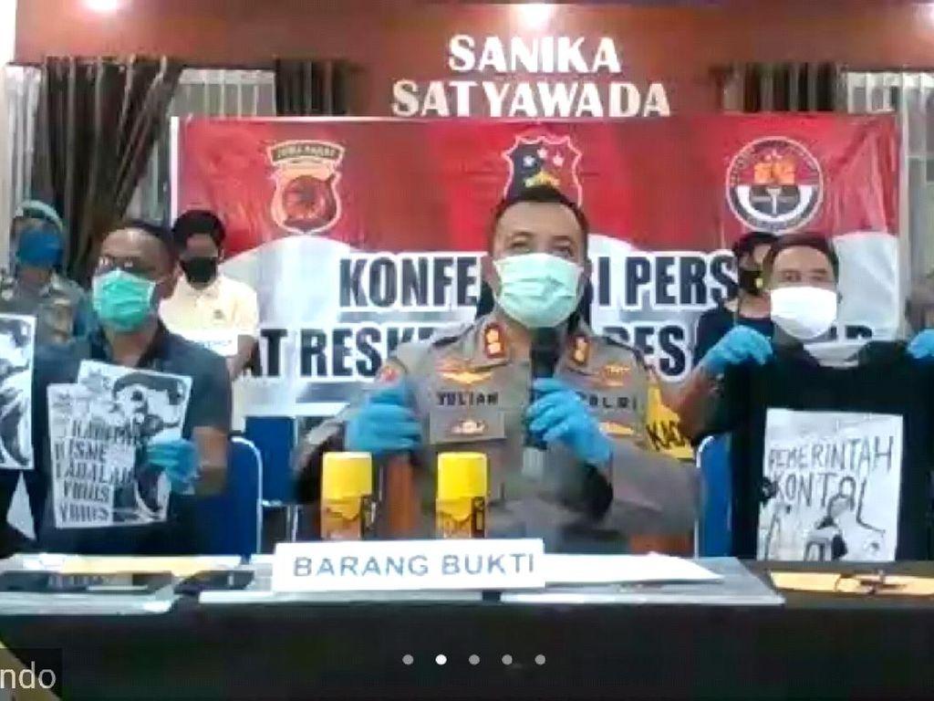3 Pelaku Vandalisme Kill The Rich di Banjar Dibekuk Polisi