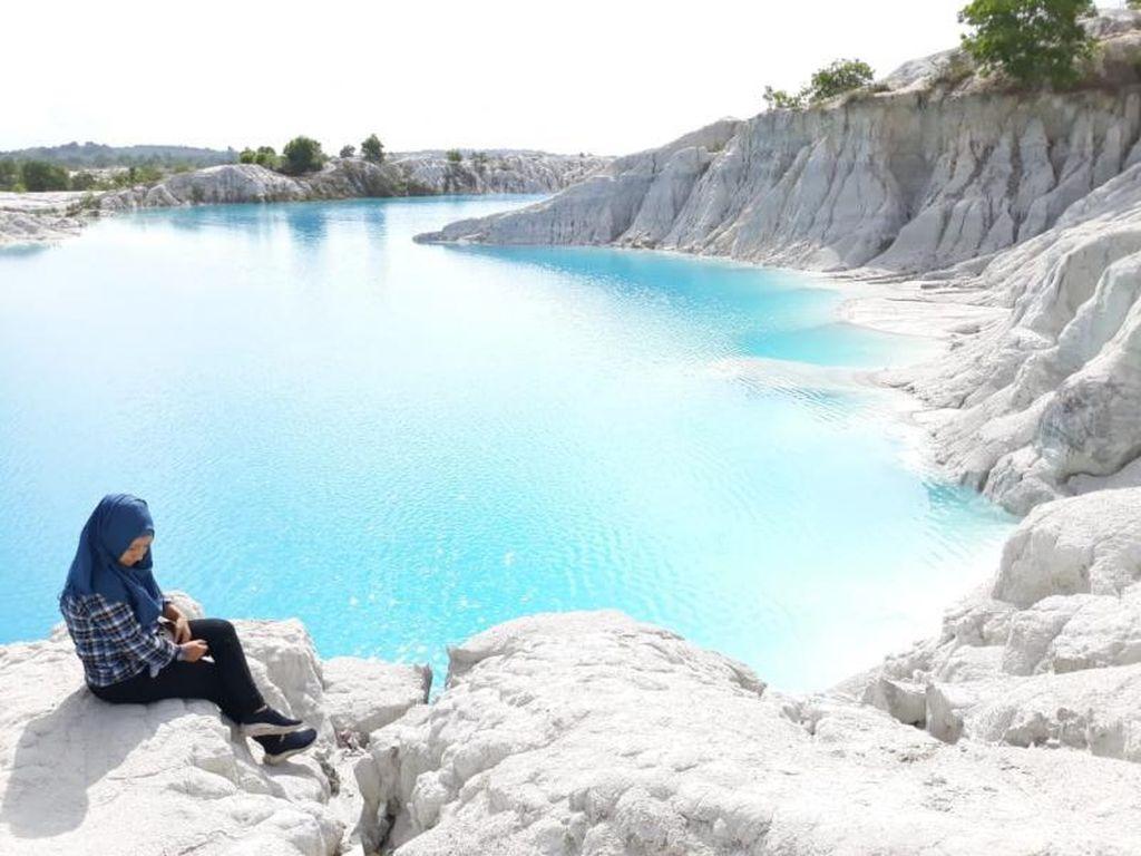 Ini Danau Kaolin, Saksi Bisu Kekayaan Tambang Belitung