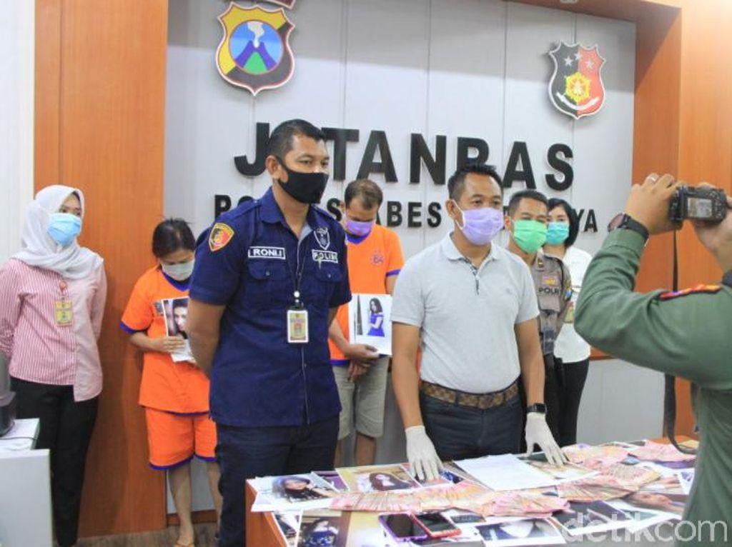 Polisi Surabaya Tangkap 3 Muncikari yang Tawarkan Ratusan PSK