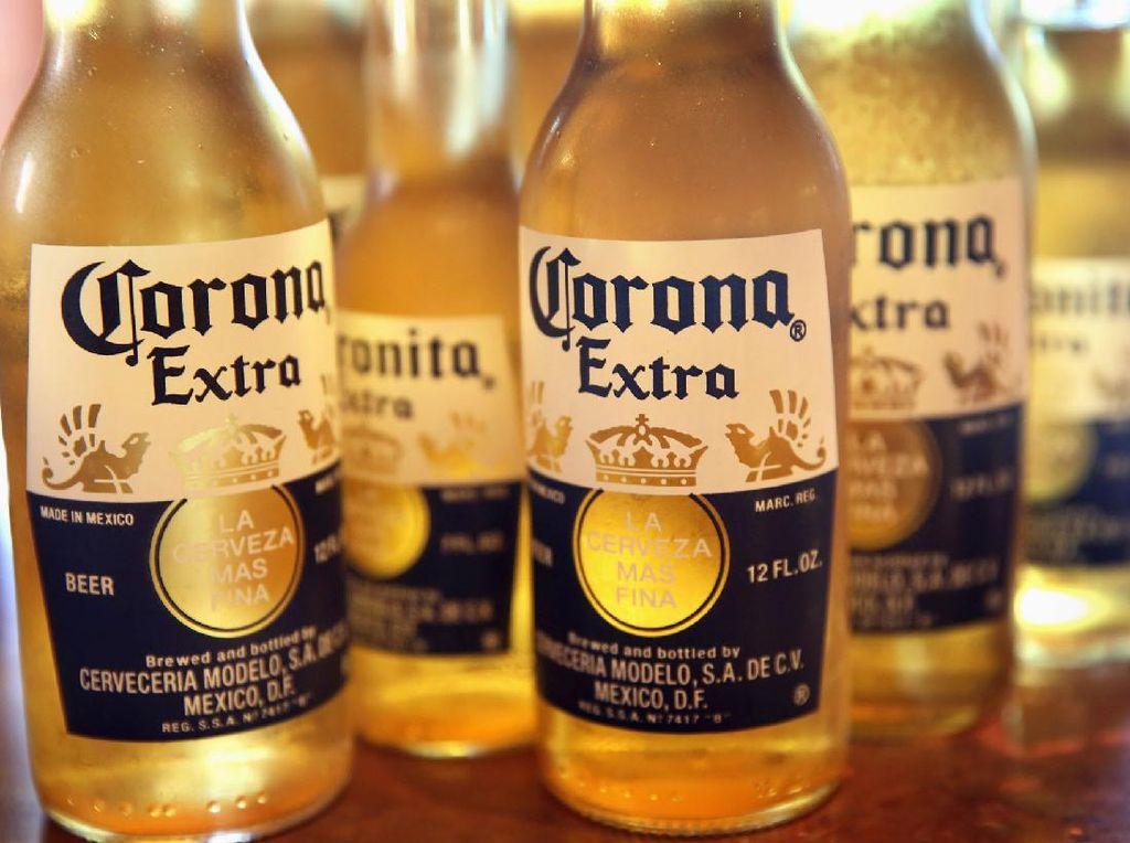 Produksi Bir Corona Disetop!